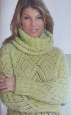 Вязание: зеленая кофточка (вязание, спицы)  - мастер класс фото