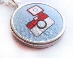 Fabric camera pendant