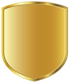 Gold Badge Template PNG Picture