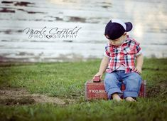 two year old boy photography session car - Google Search