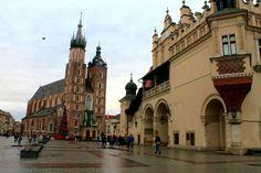 #kraków #poland #polska  Rynek Glówny - Main Market Square -Kraków, Poland