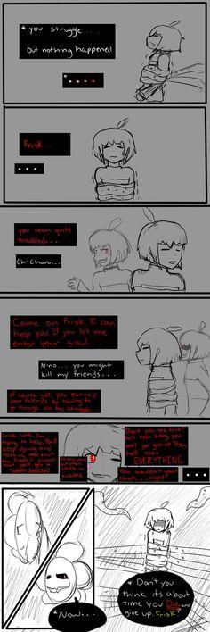 chara undertale comic