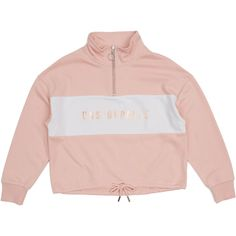 Your little lady will feel unstoppable wearing the K-D Zip Sweat. This sweet piece features a foil text print, panel detailing and a zip up front. Girls Jumpers, Textile Prints, Baby Wearing, Jacket Dress, Adidas Jacket, Zip Ups, Girl Outfits, Underwear, Hoodies