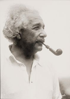 Albert Einstein by Philippe Halsman
