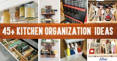 45 Small Kitchen Organization And DIY Storage Ideas