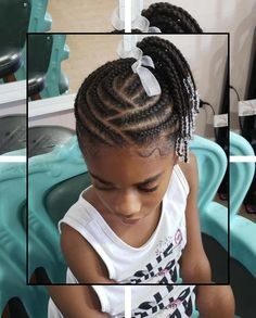 This is an impressive braid hairstyle for kids. This hairstyle will definitely change her look [& The post This is an impressive braid hairstyle for kids. This hairstyle will definitely c& appeared first on Trending Hair styles. Little Girl Braids, Black Girl Braids, Braids For Kids, Little Girl Hairstyles, Black Hairstyles, Hairstyles 2018, Children Hairstyles, Layered Hairstyles, Little Black Girls Braids