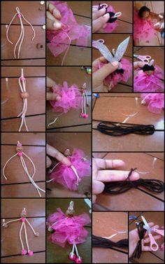 Fairy Doll Tutorial - Her Crochet - Diy Crafts Diy Yarn Dolls, Felt Dolls, Fairy Crafts, Doll Crafts, Handmade Christmas Crafts, Clothespin Dolls, Tiny Dolls, Doll Tutorial, Flower Fairies