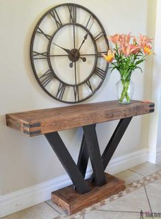 24 Simple And Amazing Wood Projects - Anika's Diy Life 24 Simple and Amazing Wood Projects - Anika's DIY Life diy wood projects - Diy Projects 2x4 Wood Projects, Wood Projects That Sell, Wood Projects For Beginners, Diy Furniture Plans Wood Projects, Easy Woodworking Projects, Rustic Furniture, Simple Projects, Furniture Ideas, Woodworking Plans