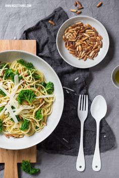Pasta mit Grünkohl und ein Shoppingtipp für Heidelberg