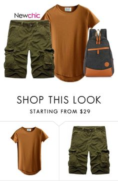 """""""NewChic M-V"""" by ritaflagy ❤ liked on Polyvore featuring men's fashion and menswear"""