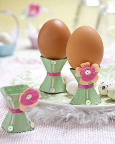 Csináld magad: újrahasznosított tojástartó
