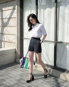 12 công thức diện shorts vải mùa hè xinh ơi là xinh lại mát rười rượi cho các cô nàng - Ảnh 6.