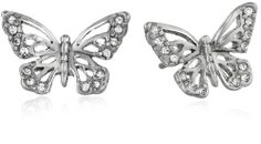 Fossil Butterfly Silver Earrings Fossil http://www.amazon.com/dp/B00FDRYVVO/ref=cm_sw_r_pi_dp_hsRJtb0HJN7KCVGK