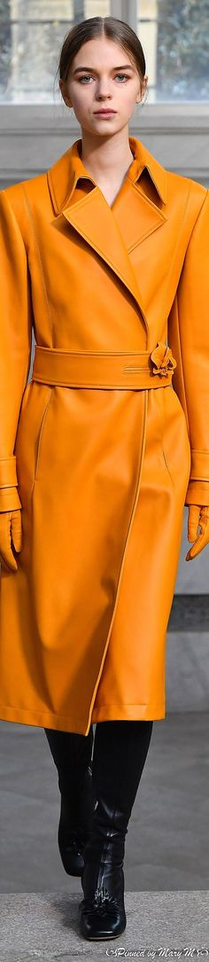 Coral Orange, Orange Color, Yellow, Haute Couture Fashion, Couture Style, High Fashion, Womens Fashion, Fashion Trends, Seasonal Image