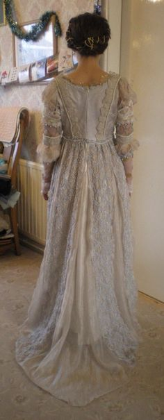 """Ever After"" costume dress. Drew Barrymore. The dress up close designed by Jane Law"