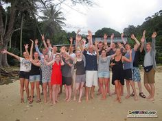 Hello Sabah, Borneo! May 2012 Expedition Borneo group are finally in TARP for scuba diving!