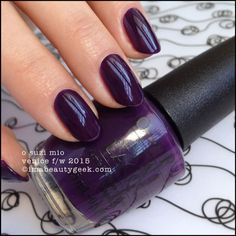 OPI O Suzi Mio – OPI Venice Collection 2015. There's a buttload of OPI Venice 2015 swatches at imabeautygeek.com
