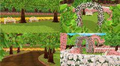 【MMD】庭みたいなもの【ステージ配布】 / ハチ さんのイラスト - ニコニコ静画 (イラスト)