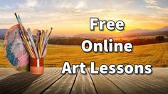 Learn how to draw and paint with the Paint Basket with our free online art lessons Painting Lessons, Art Lessons, Painting Classes, Online Art Classes, Free Classes, Online Courses, Painted Baskets, Ink Pen Drawings, Art En Ligne