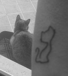 #Cat #Tattoo #Cubo