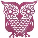 Metal Owl Decoration