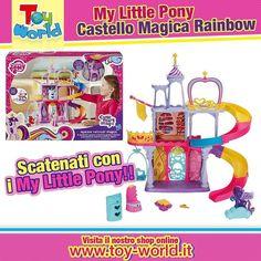 Ecco l'incantevole playset abitato dalla #Principessa #Twilight #Sparkle!!! Caratterizzato da un irresistibile e divertentissimo scivolo a spirale dove i pony possono lanciarsi su un'automobilina a forma di nuvola che rotola senza freni!! Lo troverai su www.toy-world.it  Link Diretto : http://ift.tt/1TFLF7e #mylittlepony #bambine #chicas #bimbe #pinkie #mylitglepony #pony #cavalluccio #cavallo #castello #bambina #mamma #my #little #pony #like #likeforlike #picoftheday #pic #solocosebelle…