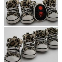 Cute Pet Dog Camouflage Boots Leopard Canvas Sports Shoes Foot Protect #1-5 - http://www.thepuppy.org/cute-pet-dog-camouflage-boots-leopard-canvas-sports-shoes-foot-protect-1-5/