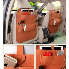 Car seat cover High-grade blankets Seat back storage bag car covers car interior accessories Travel Bag Stowing Tidying Bags Interior Accessories, Car Accessories, Bag Hanger, Seat Storage, Banquette, Back Seat, Goods And Service Tax, Types Of Shoes, Travel Bag