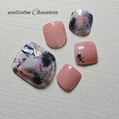 Chic Nail Designs, Colorful Nail Designs, Nail Designs Spring, Toe Nail Designs, Cute Toe Nails, Toe Nail Art, Statement Nail, Chic Nails, Manicure Y Pedicure
