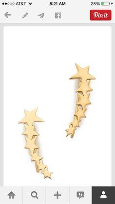 Cute clip earrings