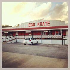 "The Egg ""Karate"" : Elk Horn, Iowa"