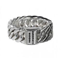 Buddha to Buddha 541 CHAIN SMALL ring op Sieradenloods.nl!