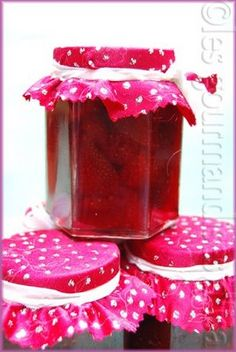 Confitures de fraises de Christine Ferber