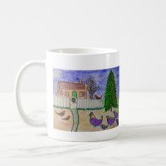 Start your day off right with a custom mug! Sip from one of our many Christmas coffee mugs, travel mugs and tea cups offered on Zazzle. Christmas Dinnerware, Christmas Coffee, Custom Mugs, My Design, Tea Cups, Coffee Mugs, Mountain, Bird, Tableware