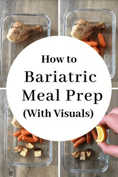 How to low carb meal prep after bariatric surgery. Learn how to low carb meal prep after bariatric surgery. Focus on these steps and you will be confidently meal prepping in no time. Bariatric Eating, Bariatric Recipes, Bariatric Surgery, Vsg Surgery, Diabetic Meals, Weight Loss Surgery, Diabetic Friendly, Weight Loss Meals, Weight Loss Challenge