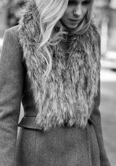 High Tech Fur Collar