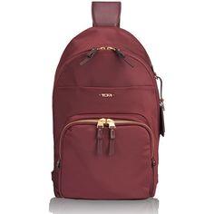 548e05b0c7b Tumi Voyageur Nadia Convertible Backpack Sling Bag - Merlot ( 245) ❤ liked  on