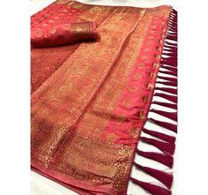 Style Array Present Beautiful Multi Color Pure Silk With Weaving Branded Saree . Buy This Attractive Look Beautiful Multi Color Pure Silk With Weaving Branded Saree Gold Silk Saree, Raw Silk Saree, Tussar Silk Saree, Soft Silk Sarees, Silk Dupatta, Net Saree, Kanchipuram Saree Wedding, Kerala Saree Blouse Designs, Banaras Sarees