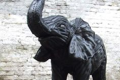 Home Used Tires, Lion Sculpture, Statue, Animals, Animal Sculptures, Diy And Crafts, Animales, Animaux, Animal