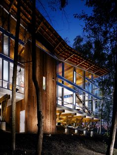 Strickland-Ferris Residence | Raleigh, North Carolina | Frank Harmon Architect PA | photo © Tim Hursley