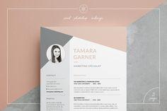 Resume/CV | Tamara by Keke Resume Boutique on @creativemarket
