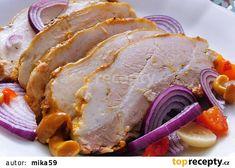 Nakládaný bůček Habunda recept - TopRecepty.cz Bucky, Pork, Meat, Kale Stir Fry, Pork Chops