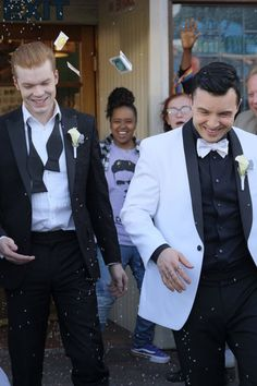 ian and mickey wedding * ian and mickey - ian and mickey fan art - ian and mickey kiss - ian and mickey wedding - ian and mickey shameless - ian and mickey wallpaper - ian and mickey quotes - ian and mickey gif Shameless Show, Shameless Memes, Carl Shameless, Shameless Characters, Shameless Mickey And Ian, Ian And Mickey, Gay Couple, Best Couple, Vampire Diaries