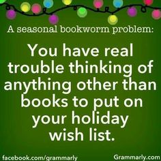#seasonalbookwormproblem