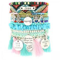 ibiza armband magical angel pastel
