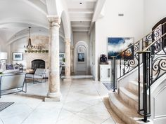 628 Brandon Way Residential Real Estate, Real Estate Search, Foyer, Luxury Homes, The Neighbourhood, Home And Family, Stairs, Inspiration, Beautiful