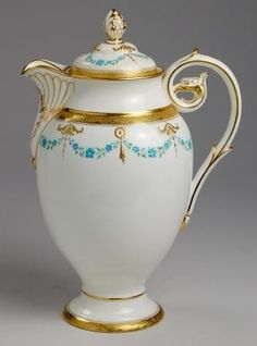 Minton TIFFANY & Co. Teapot |Pinned from PinTo for iPad|