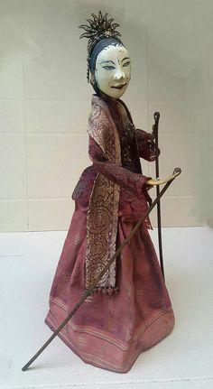 Antique Wayang Gambyong USD 525.00 from Bali Puppet Factory