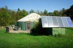 Solar-Powered Luxury Yurt on Hudson Valley Horse Farm GlampingHub