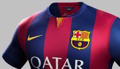Nike Reveal Barcelona 2014/15 Home Shirt